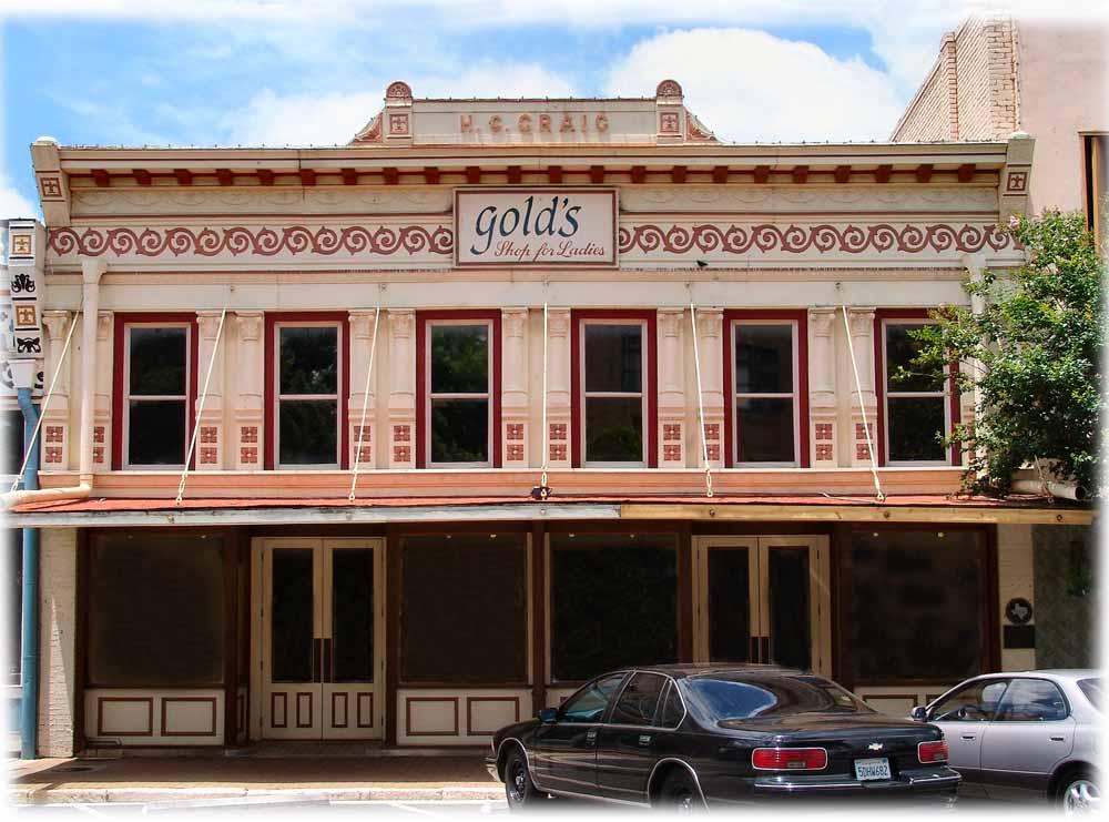 georgetown texas historic old buildings west 7th street mid block. Black Bedroom Furniture Sets. Home Design Ideas