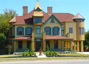 Historic Homes Of Georgetown Texas Of College Street